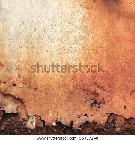 Texture, rust. - stock photo