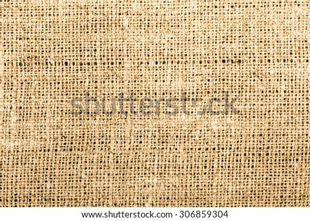 Texture sack canvas to use as background - stock photo