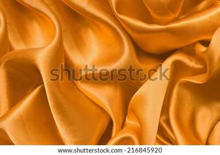 Texture satin. silk background. shiny wavy pattern canvas. color fabric