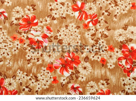 texture, seamless floral  pattern background - stock photo