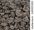 Texture. Stone wall made �¢??�¢??of stones of different shapes - stock photo