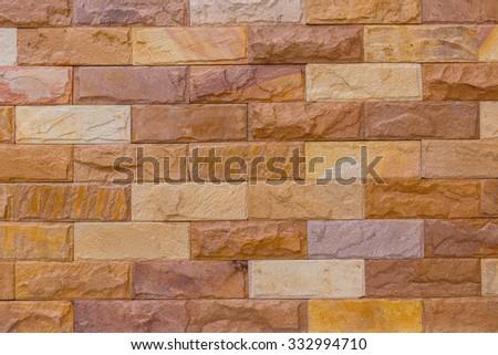 Texture wall brick vintage - stock photo