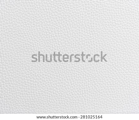 Texture white leather for background - stock photo