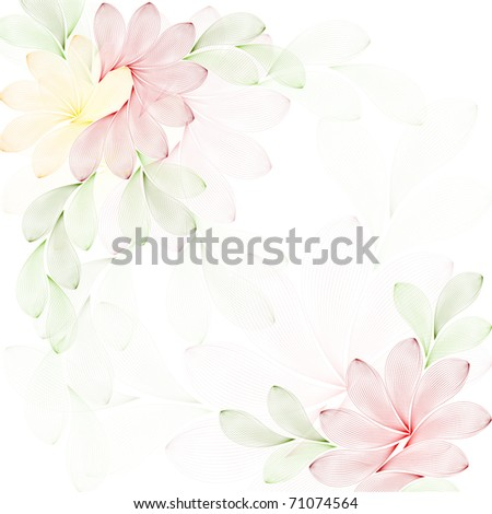 texture with flowers