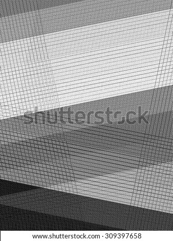 Textured Abstract Lines - stock photo