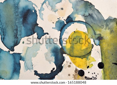 Textured Abstract Paint of Art - stock photo