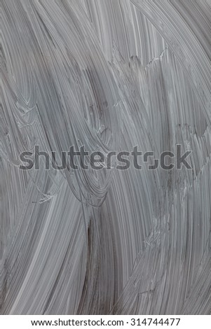 Textured abstract painting,  white hand painted brushstroke background