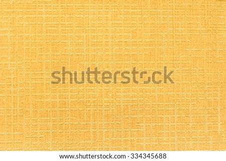 textured art of wallpaper for interiors design work yellow beige color style - stock photo