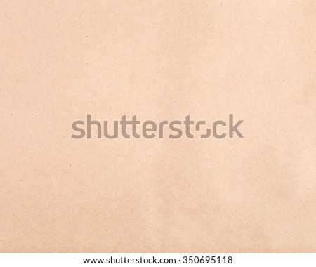 textured background from brown crumpled kraft paper
