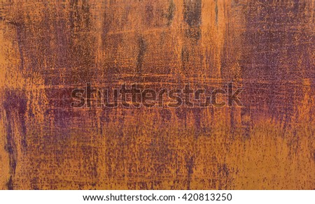 textured background rust abstraction design scratch   horizontal - stock photo