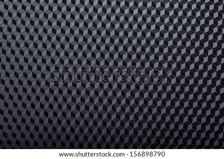Textured background with 3D effect - stock photo