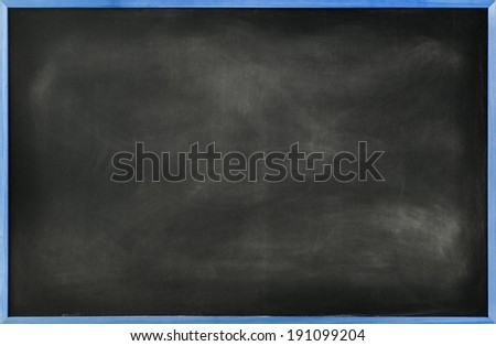 Textured Blackboard with Blue Border