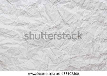 textured crumpled paper , old gray paper. - stock photo