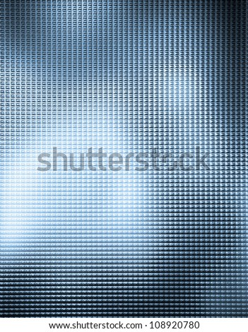 Textured glass useful as a background - stock photo