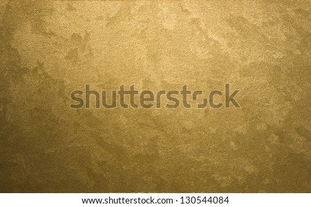 textured gold background - stock photo