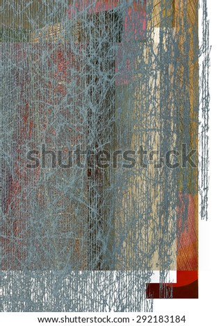 Textured gray background - stock photo