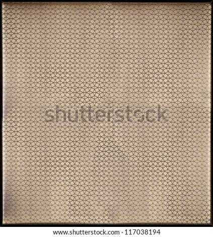 Textured metal plate - stock photo