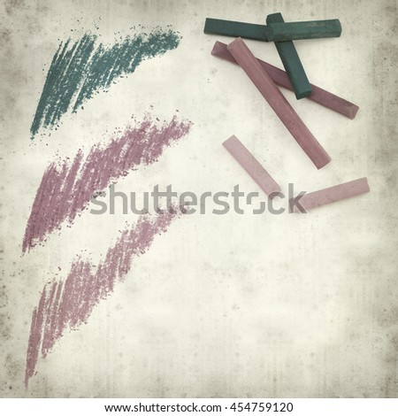 textured old paper background with pastel art medium