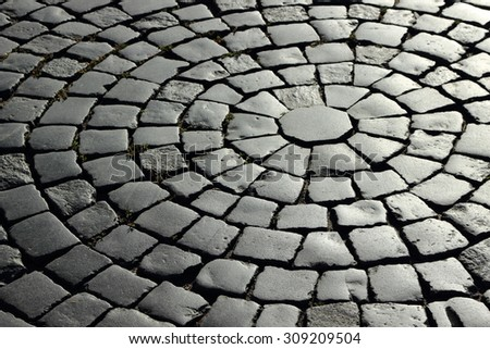 Textured pavers, St Petersburg, Russia