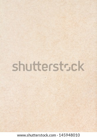 Textured recycled vintage light  beige natural  paper background. - stock photo