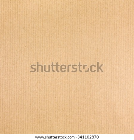 textured striped packaging recycled brown paper for background