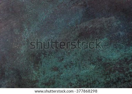 Textures and colors of rust copper. - stock photo