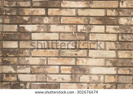 Textures Old brick wall - stock photo