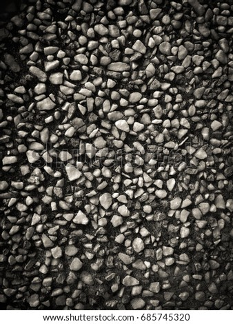 Textures wash gravel (Abstract)