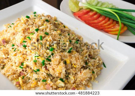 Thai - Chinese style fried rice