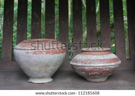 Thai Earthenware - stock photo