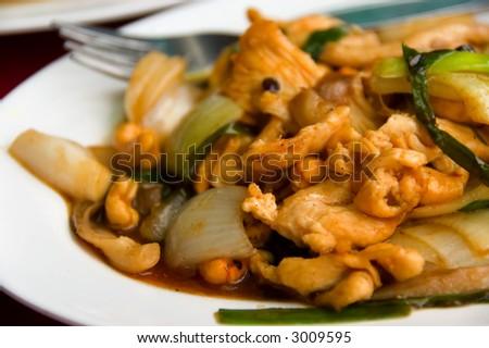thai food - stock photo