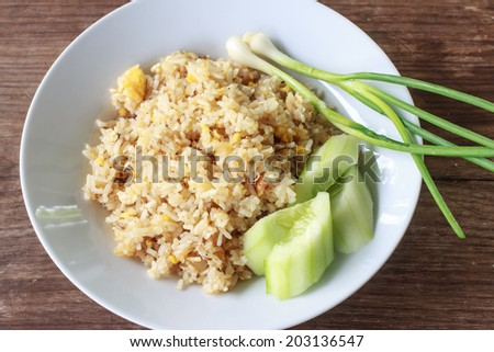Thai food - Fried rice
