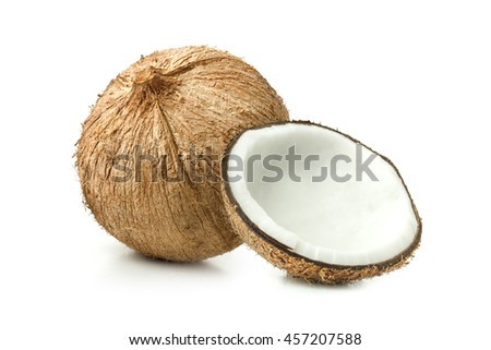 Thai Milk Coconut with Coconut Meat