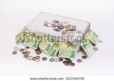 Thai money bath on ark - stock photo