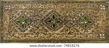 Thai ornament texture - stock photo
