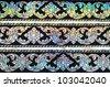 thai pattern - stock photo