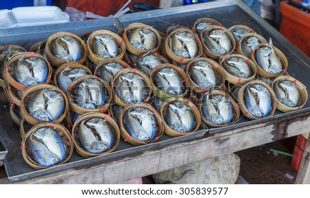 Thai salted mackerel