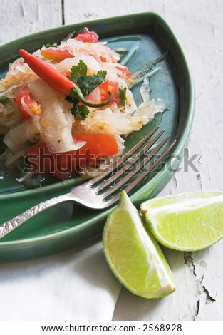 Thai Som Tum (green Papaya) Salad