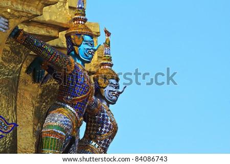 Thai Temple 02 - stock photo
