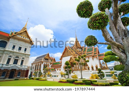Thai temple near Grand palace
