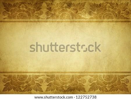 Thai tradition art paper - stock photo