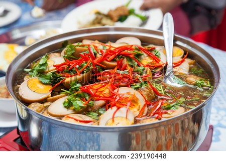 Thai traditional food - stock photo