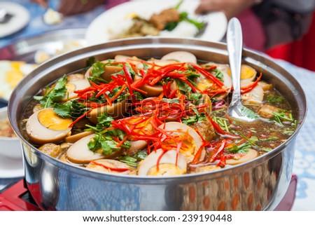 Thai traditional food - stock photo