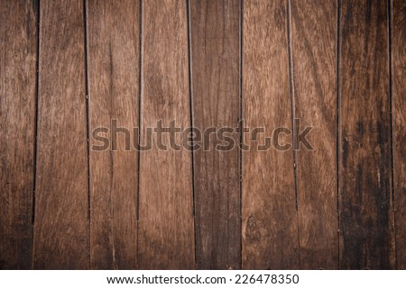 Thai traditional wooden wall background - stock photo