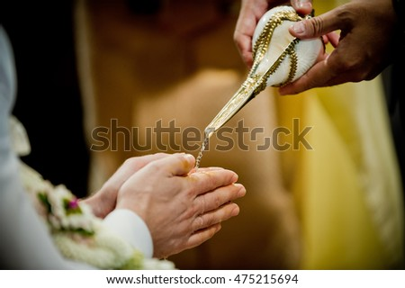thai wedding ceremony