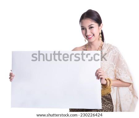 Thai woman  - stock photo