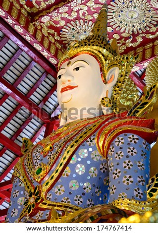 Thailand Burmese style of sculpture