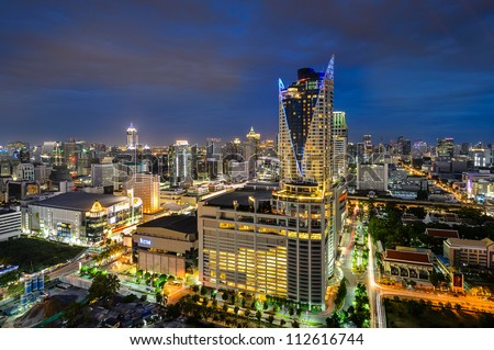 THAILAND-JULY 1 : CentralWorld is a shopping plaza and complex on july1,2012 in Bangkok, Thailand. It is the third largest shopping complex in the world. - stock photo