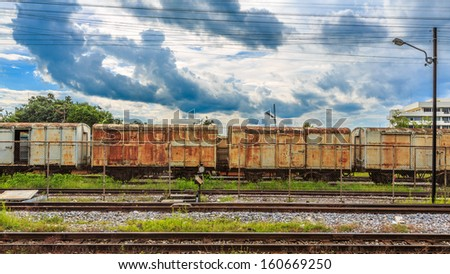 Thailand Railway - stock photo