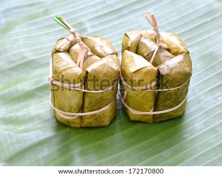 Thailand rice cakes bundle - stock photo